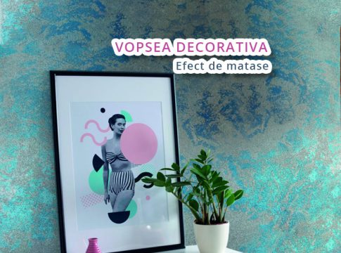vopsea decorativa interior